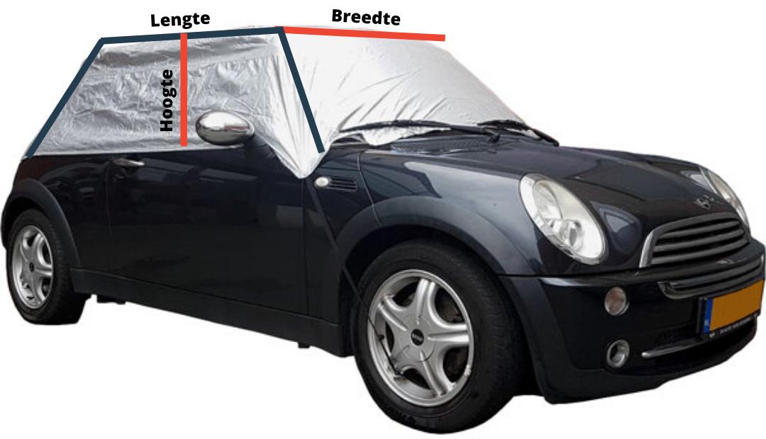 hoe meet ik mijn autodak op voor dakhoes auto polyester