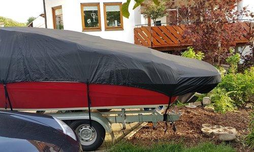Bootzeil Afdekzeil 600D Longlife Zwart - Speedboot