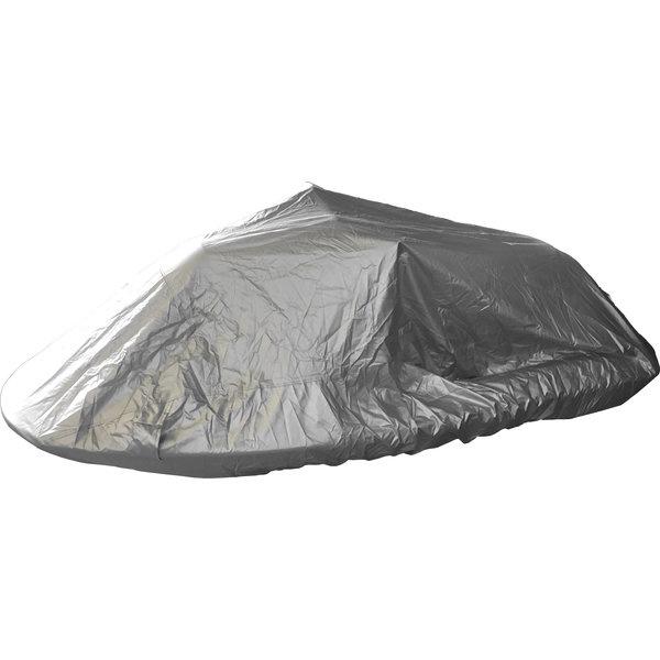 Waverunner jetski afdekhoes beschermt uw jetski tegen alle weersinvloeden stof en vuil en heeft ventilatie gaten waardoor hij goed ademend is. De Waverunner jetski afdekhoes is een 300D oxford geweven hoes.