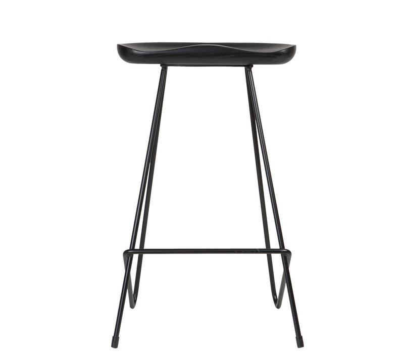 Kensington Bar Chair Black