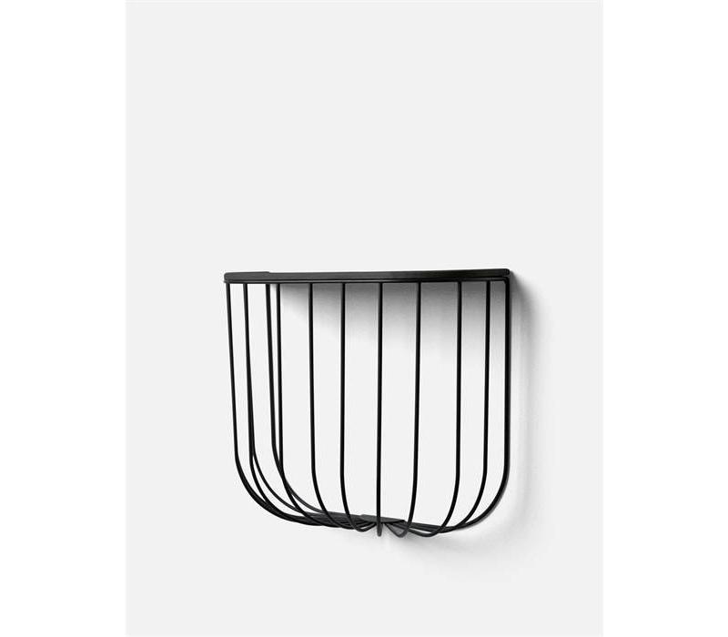 Cage Shelf Black