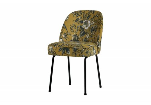 Be Pure Home Vogue Chair Puppy Mustard