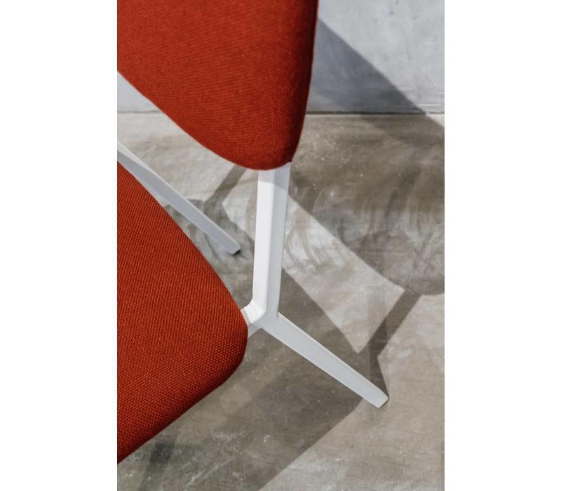 Studio HENK Co Chair Eetkamerstoel Zonder Arm Wit Frame