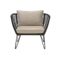 Black Lounge Chair