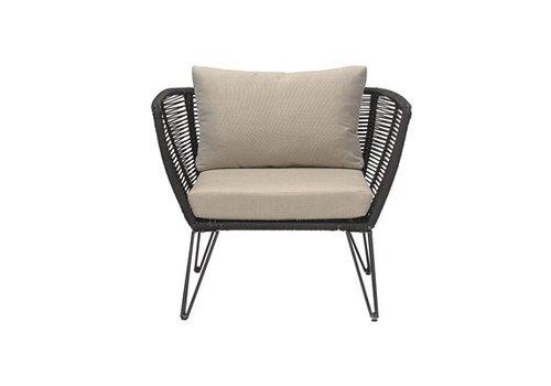 Bloomingville Black Lounge Chair
