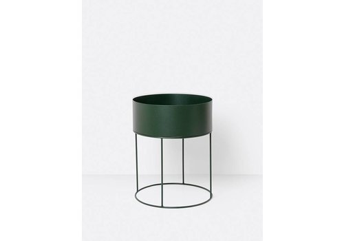 ferm LIVING collectie Plant Box Round - Green