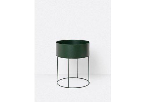 ferm LIVING collectie Plant Box Round - Green