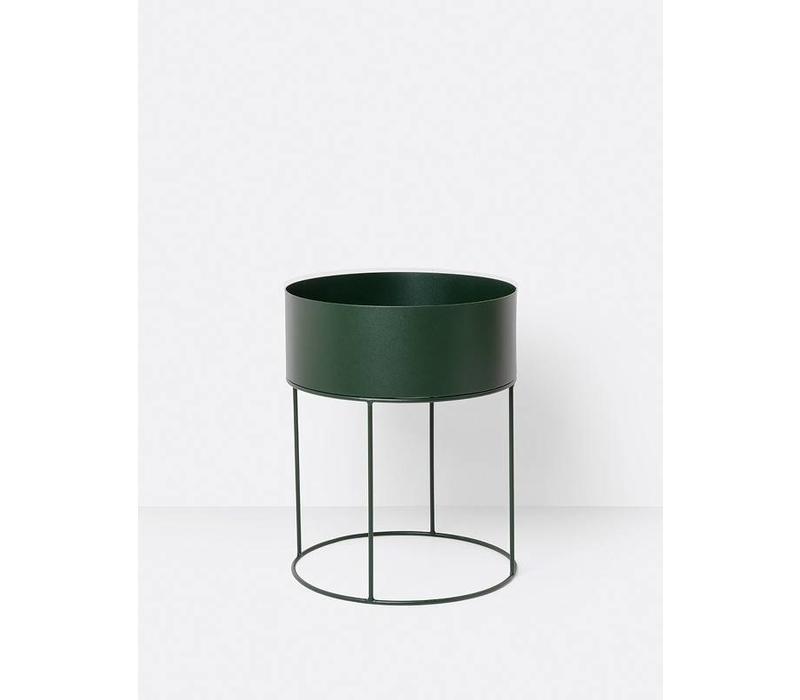 Plant Box Round - Green