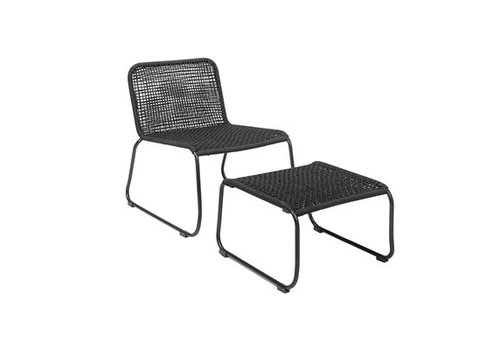 Bloomingville Footrest Lounge Chair