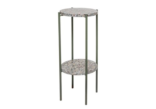 Bloomingville collectie Bloomingville Earth Sidetable Green