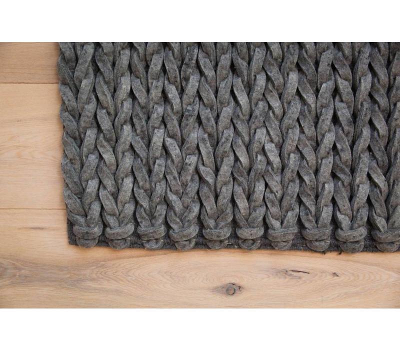 Kabel - Antraciet - 200x300cm