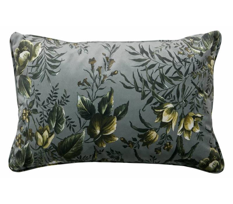 Cushion Poppy Grey (set of 2)
