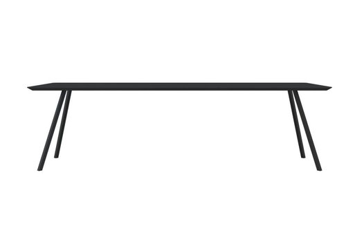 Slim Co Table HPL Black 200