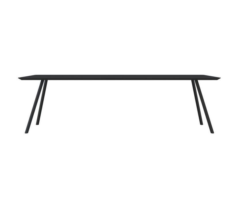 Slim Co Table HPL Black 200