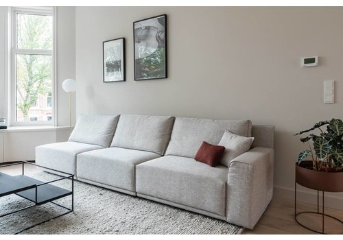 Passe Partout Luigi Sofa Greige + Table