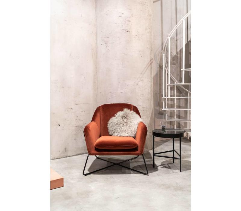 ferm LIVING Marble Zwart Medium