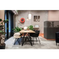Studio HENK Butterfly Eettafelbank Zwart Frame