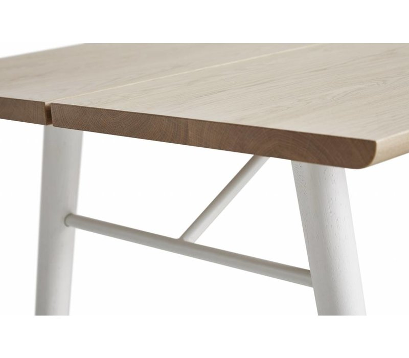 WOUD Alley Eettafel Naturel Eiken