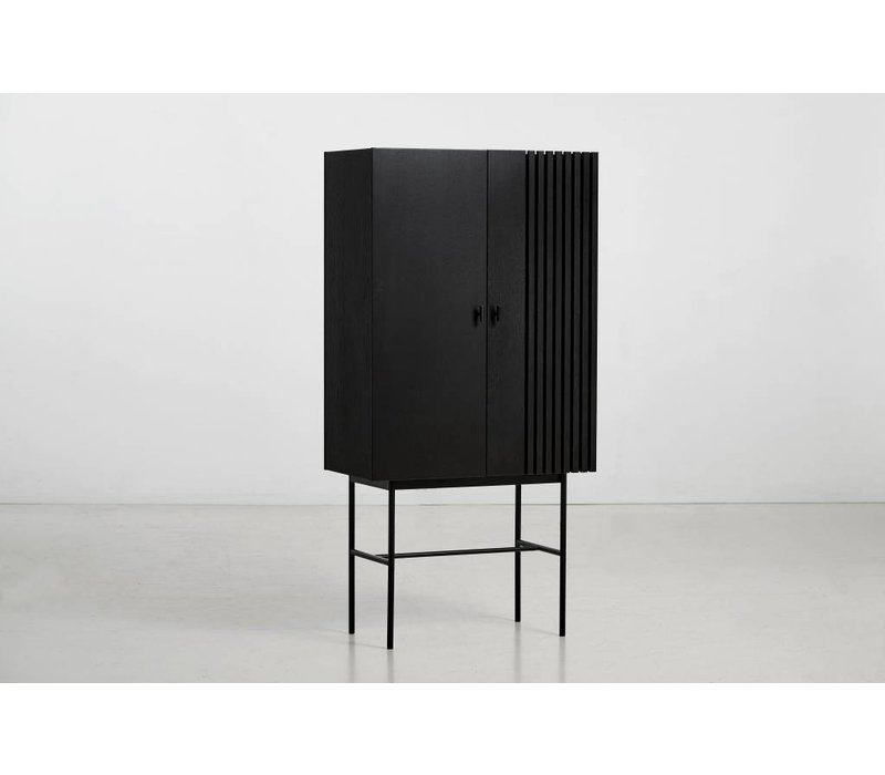 Array Highboard Black