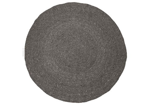 Bloomingville collectie Rug Wool Grey