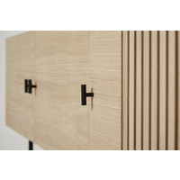 WOUD Array TV-dressoir Zwevend Naturel Eiken