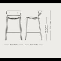 &Tradition Pavilion AV7 Barkruk Counter Chair 65cm