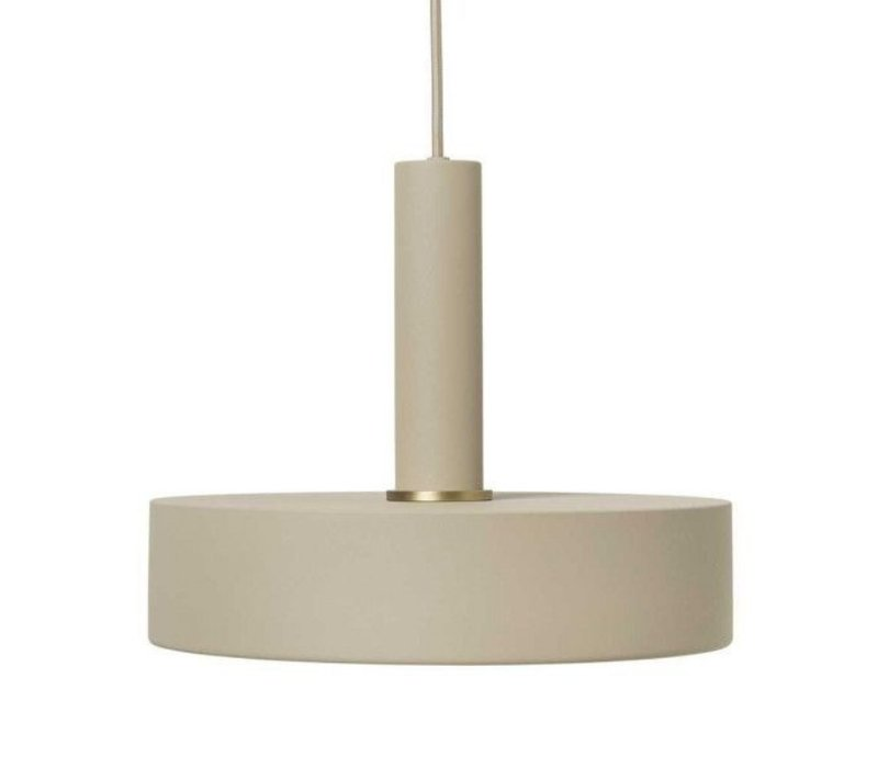 ferm LIVING Record Shade Hanglamp Cashmere
