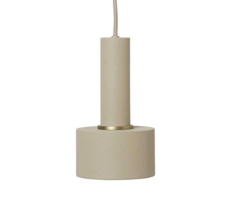 ferm LIVING Disc Shade Hanglamp Cashmere