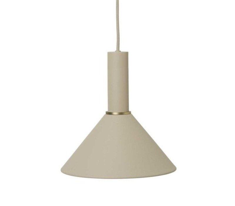 ferm LIVING Cone Shade Hanglamp Cashmere