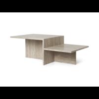 Distinct Coffee Table Travertine