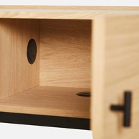 WOUD Array TV-dressoir Metalen Poten