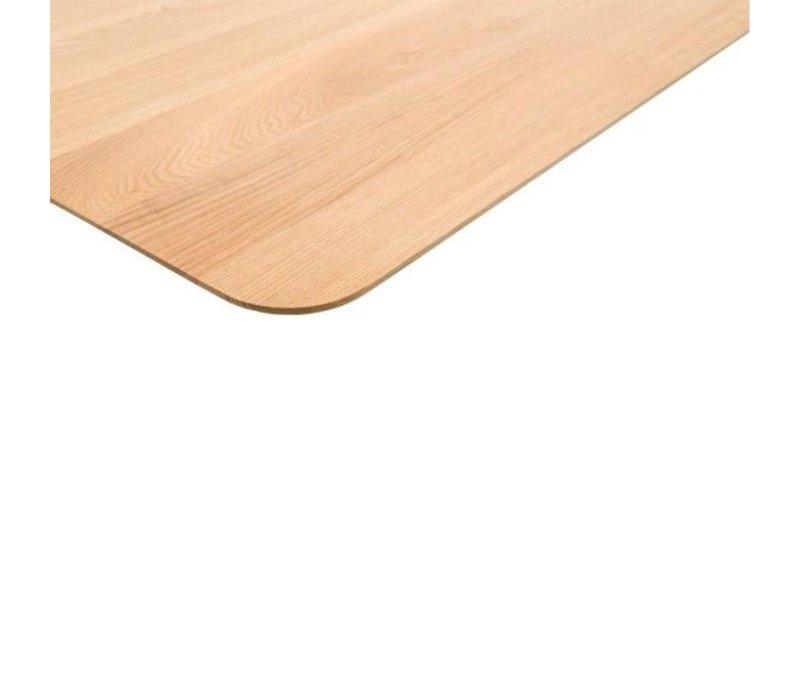 Studio HENK Slim X-type Eettafel Zwart Frame
