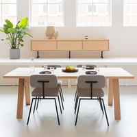 Studio HENK Legno Eettafel Natural Light Hardwax
