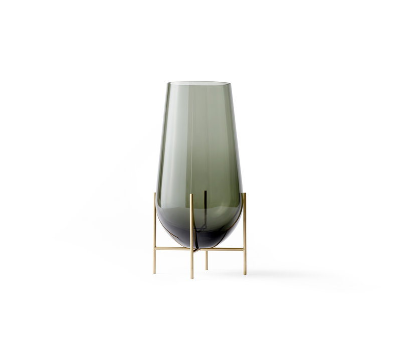 MENU Echasse Vaas Smoked Brushed Brass Large