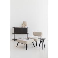 Studio HENK Ode Lounge Fauteuil Zwart Frame