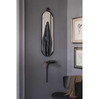 ferm LIVING Poise Spiegel Ovaal Zwart Frame