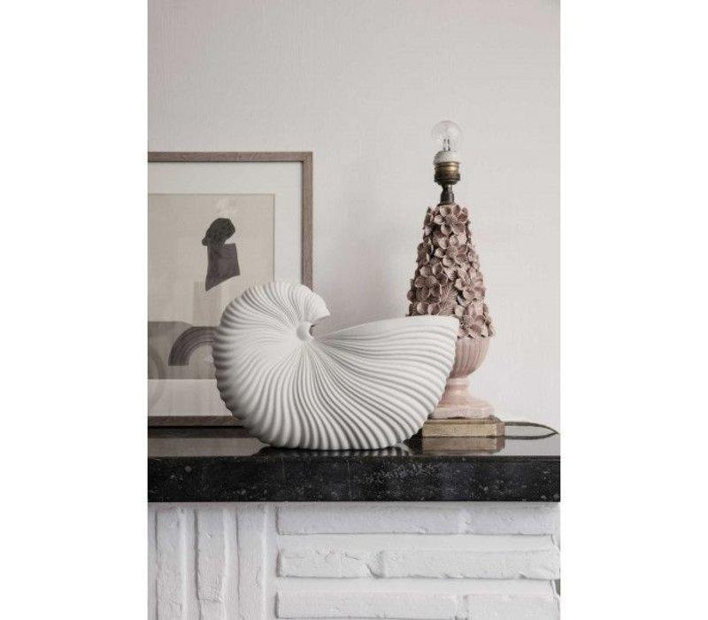 ferm LIVING  Shell Pot Vaas Off White