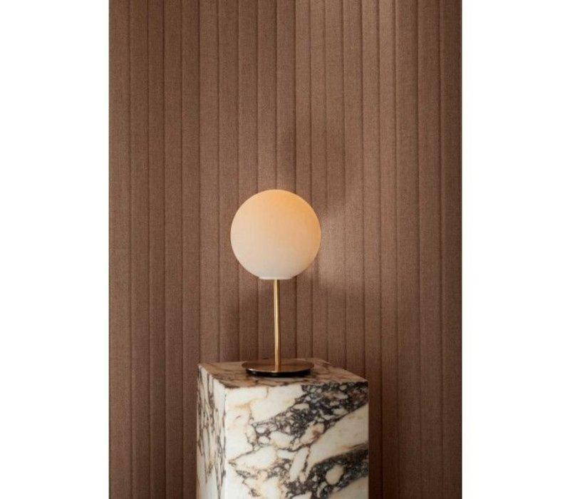 MENU TR Bulb Tafellamp Brushed Brass w. Matt Opal Bulb