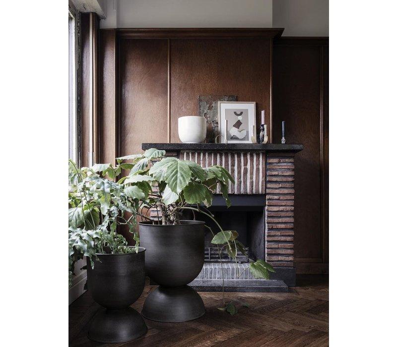 ferm LIVING Hourglass Pot Medium Zwart