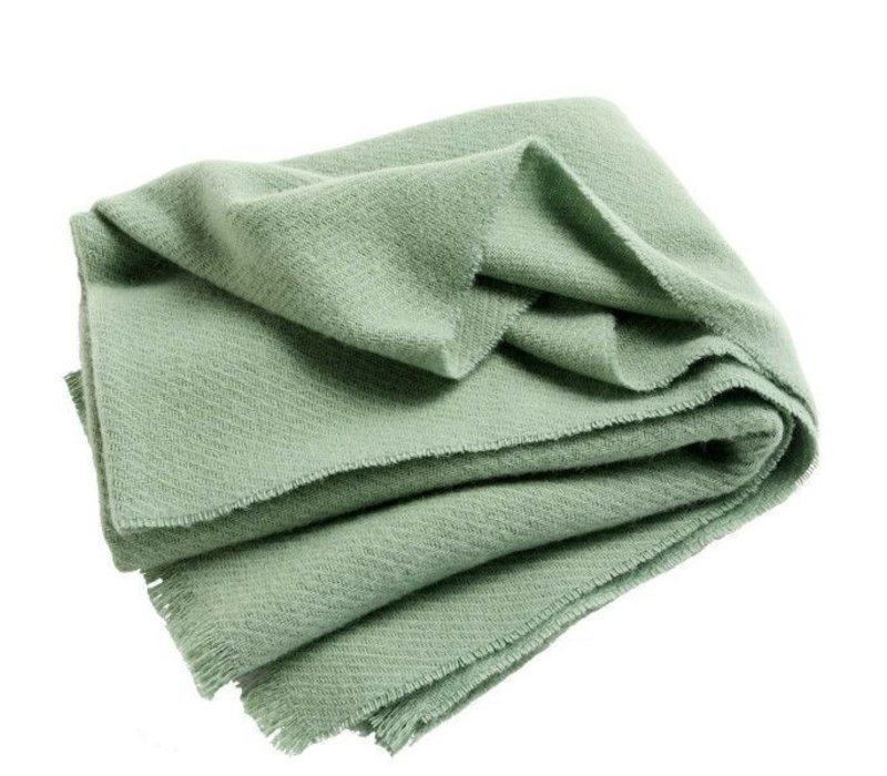 HAY Mono Plaid Verdigris Green 180 x 130