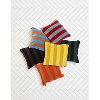 HAY Soft Stripe Soft Blue Kussen 50 x 50