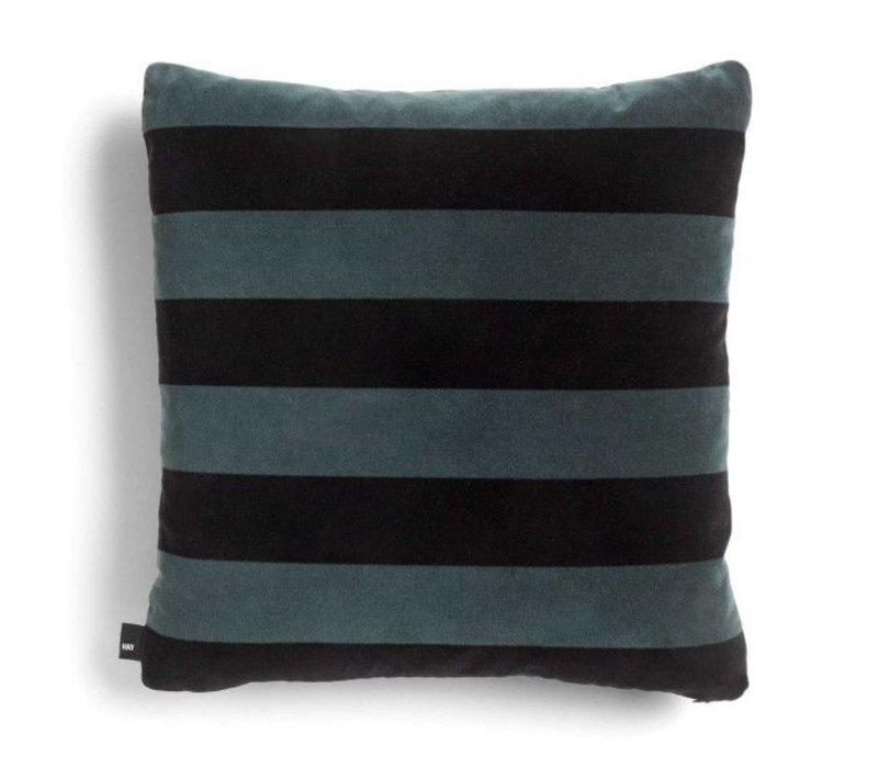 HAY Soft Stripe Kussen Hunter 50 x 50