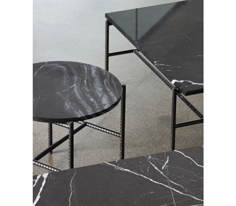 HAY Rebar Marble Salontafel 80x84