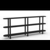 Studio HENK Studio HENK Oblique Cabinet OB-3L Zwart Frame / Zwarte Beits