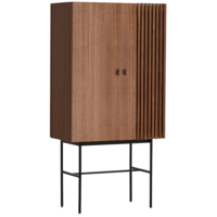 WOUD Array Highboard Kast Walnoot