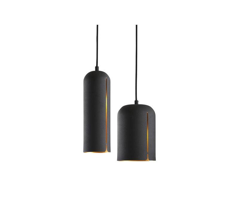 WOUD Gap Pendant Hanglamp Tall Zwart