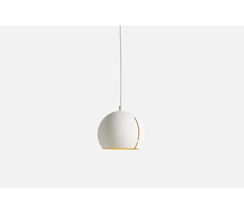 WOUD Gap Pendant Hanglamp Rond Wit