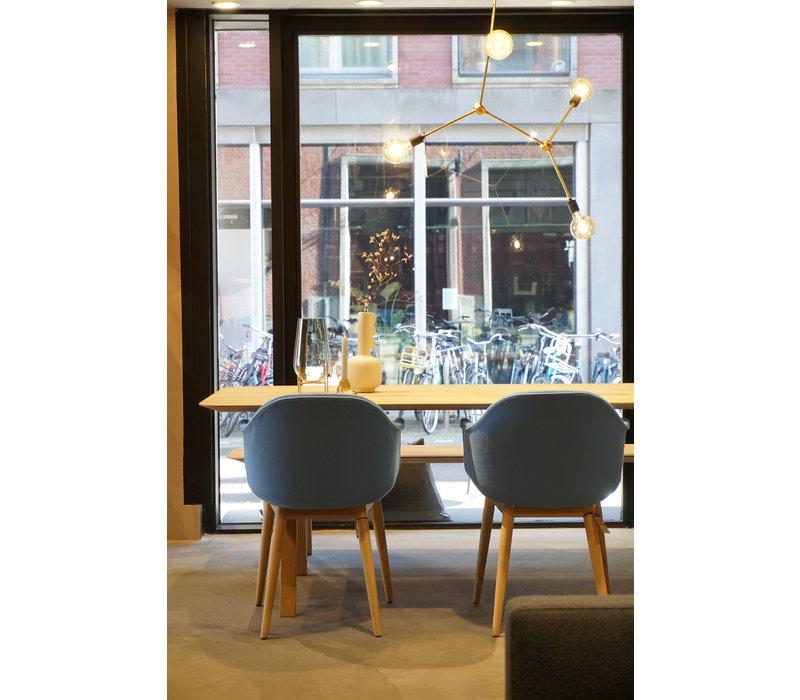 Arc Design Eettafel Naturel Eiken 220 x 90