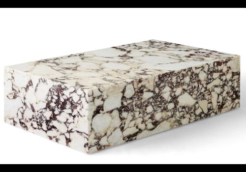MENU MENU Plinth Low Marble Calacatta