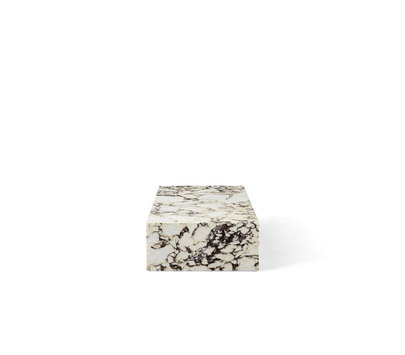 MENU Plinth Low Calacatta Viola Marmer